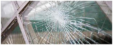 Eaton Socon Smashed Glass